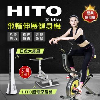 璽督Hito飛輪伸展健身機/健腹機/ 美背機/輕巧又實用