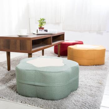 【IDeng】繽紛小花-造型沙發椅凳