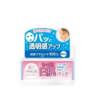 日本 COSMO 胎盤素白肌瞬效面膜130g*1入