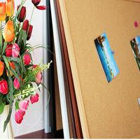 [協貿國際]仿實木掛式軟木板家居照片牆留言板圖釘板60*90便簽板記事宣傳板一個價