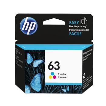 HP F6U61AA(NO.63)彩色墨水匣