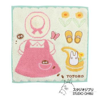 吉卜力 Totoro龍貓純棉小方巾/手帕(小梅日常)