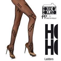 【摩達客】英國進口【House of Holland】時尚階梯彈性褲襪