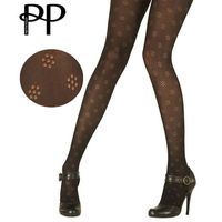 【摩達客】英國進口【Pretty Polly】小花圖紋彈性褲襪