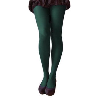 【摩達客】英國進口【Pretty Polly】40D丹尼彩色彈性褲襪(綠色)(兩入組)