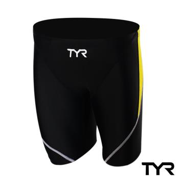 美國TYR男用訓練及膝泳褲Ray Jammer Yellow 台灣總代理
