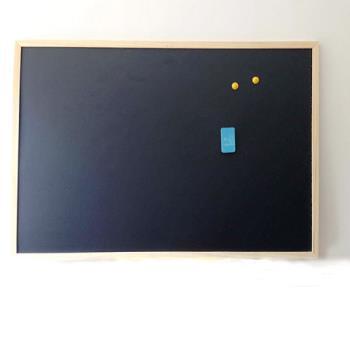 [協貿國際]磁性雙面黑板50*70 辦公教學寫字板家居留言板兒童早教益智畫板一個價