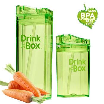 【Drink in the box】Tritan兒童運動吸管親子杯-果凍綠