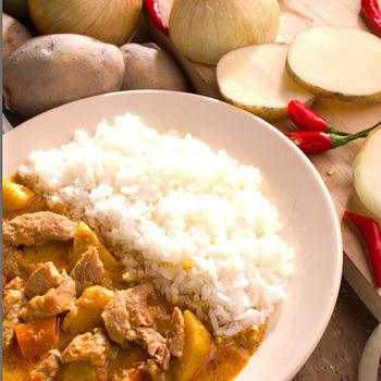 花蓮家咖哩-南洋咖哩料理包8包組(雞*4+菜*4)
