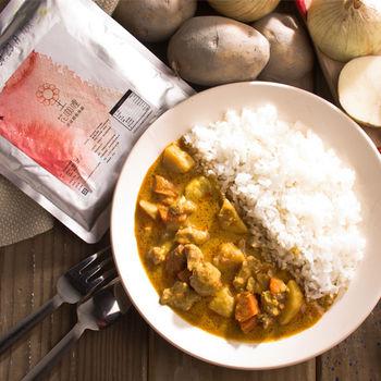 花蓮家咖哩-南洋咖哩料理包8包組(雞*3+豬*3+菜*2)
