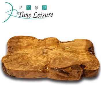 Time Leisure 品閒 黃金樟雕刻實木茶盤(A9)60x45x7cm