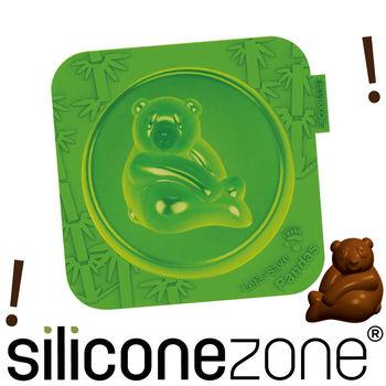 【Siliconezone】施理康耐熱熊貓造型小蛋糕模