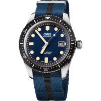 Oris Divers Sixty-Five 1965 復刻潛水系列機械腕錶-藍/42mm 0173377204055-0752128FC