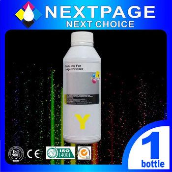 【NEXTPAGE】Lexmark 全系列 Dye Ink 黃色可填充染料墨水瓶/250ml【台灣榮工】