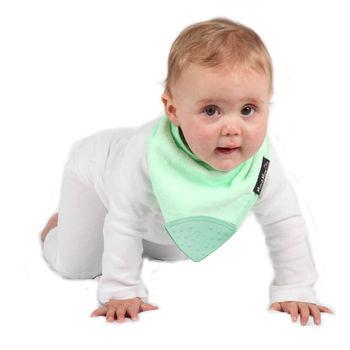 【Mum 2 Mum】機能型神奇三角口水巾咬咬兜-薄荷綠