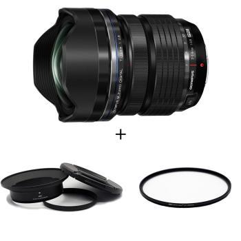 Olympus M.ZD 7-14mm F2.8 鏡頭(公司貨) + STC 鏡接環 + STC UV 105mm 保護鏡 套組