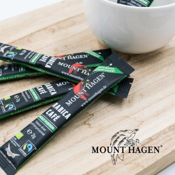 【Mount Hagen】德國原裝進口 有機低咖啡因即溶咖啡粉(2g x 250包/箱)