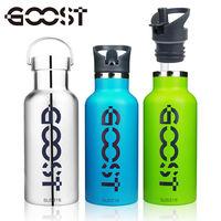 ~美式~GOOST~316不鏽鋼多 可提 吸管式500ML 保冰 溫瓶 雙蓋款式 _2入組
