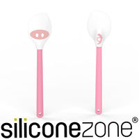 【Siliconezone】施理康耐熱矽膠粉紅小豬奶油清潔鏟