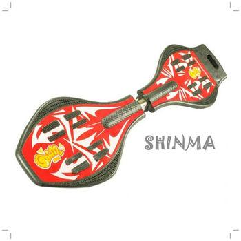 【時尚運動】ABS基本式蛇板(魅力紅)