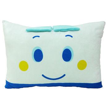 【享夢城堡】SHINKANSEN 新幹線臉型雙面枕(小)