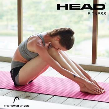 HEAD海德 天然絨布瑜珈墊