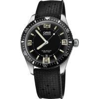 Oris Divers Sixty-Five 1965復刻潛水機械錶-黑/40mm 0173377074064-0742018