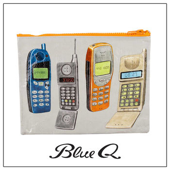 Blue Q 拉鍊袋 - Cell Phone 手機