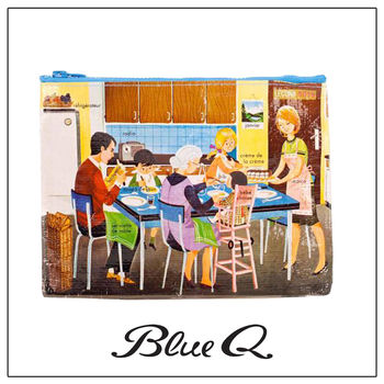 Blue Q 拉鍊袋 - French Lecon 法文課