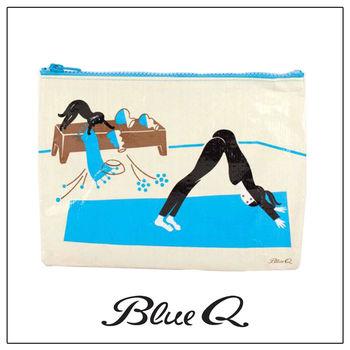 Blue Q 拉鍊袋 - Me-Om 花貓瑜珈