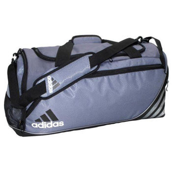 【Adidas】2016時尚Team speed鉛灰色中型行李(預購)