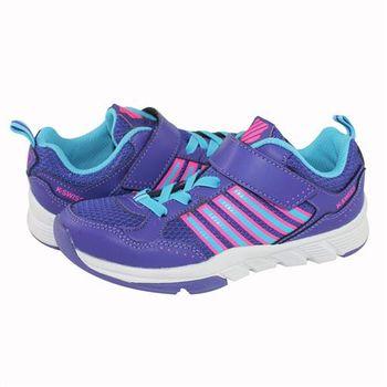 K-Swiss X Trainer VLC休閒運動鞋-童-紫/藍