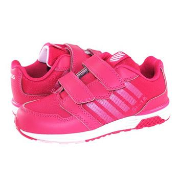 K-Swiss Si-18 Trainer 2.5 Strap運動鞋-童-莓紅