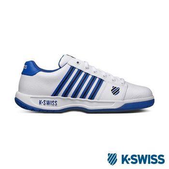 K-Swiss Eadall休閒運動鞋-男-白/藍/黑