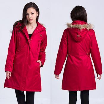 ST.MALO 艷色輕量蓄熱棉PARKA COAT外套