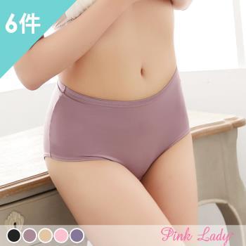 【PINK LADY專區】台灣製提花竹炭防水生理褲7036 (6件組﹞