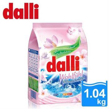 【德國達麗Dalli】好感覺全效濃縮花香洗衣粉 1.04kg