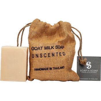Thai Scent泰香 麻布袋山羊奶手工保養皂-純淨原味 270g
