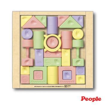 【日本People】◤日本製◢ 彩色米的積木組合