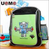 【UnMe 機器人】率性輕量後背書包(綠色)