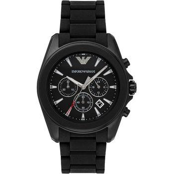 Emporio Armani Sport 探險家運動計時腕錶-黑/44mm AR6092