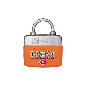 【Go Travel】TSA 生日密碼鎖-橘色 indulgence 寵愛自己