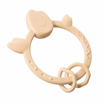【日本People】◤日本製◢米的環狀咬舔玩具-日本製