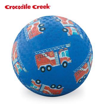 【美國Crocodile Creek】7吋兒童運動遊戲球-消防車