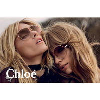 CHLOE太陽眼鏡 廣告款(玫瑰金)CE121S-785