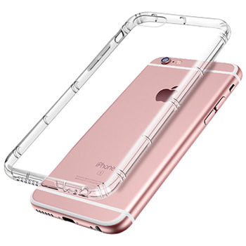 (2入裝 ,平均245元)X_mart Apple iPhone 7plus 5.5吋強化防摔抗震空壓殼(透明白)