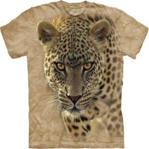 【摩達客】(預購)(男童/女童裝)  美國進口 The Mountain 覓食豹 純棉環保短袖 T恤