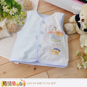 魔法Baby 嬰幼兒外套 專櫃款寶寶秋冬背心外套~k60147
