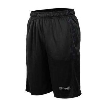【FIRESTAR】男籃球短褲-運動短褲 球褲 黑紫