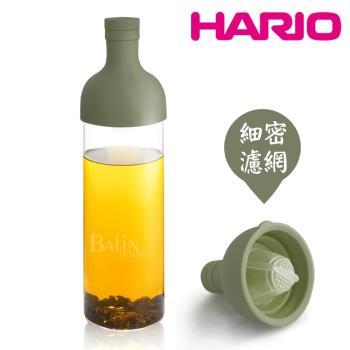 【日本 HARIO】酒瓶冷泡茶壺 750ml /深綠 (FIB-75-OG)